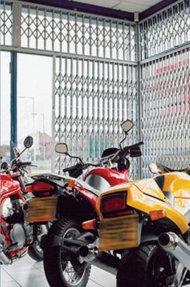 Window grille inside